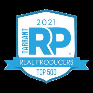 tarrant real producers top 500 2021